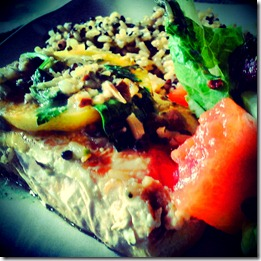 salmon basil aprict