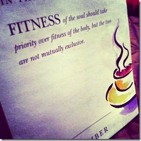 fitness of soul
