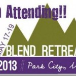  GOING- &gt; Blend 2013