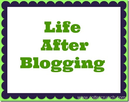 after bloggin pin
