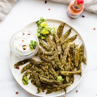 How to Make Homemade Snap Pea Chips in the oven or dehydrator!