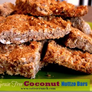 The Perfect Pre Race Travel Snack – Grain Free Nutty Coconut Bars