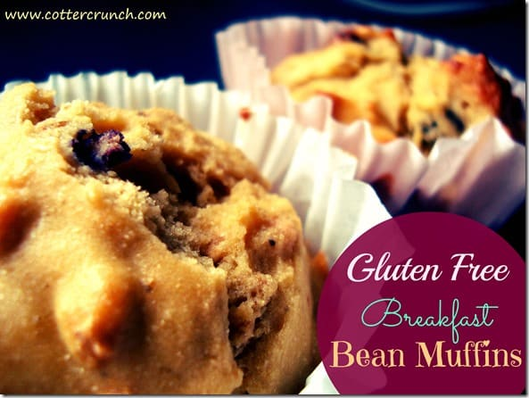 GF breakfast Bean Muffins