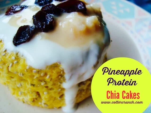 Protein Chia Mug Cake!