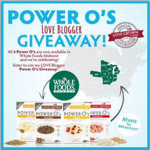 power o's giveaway