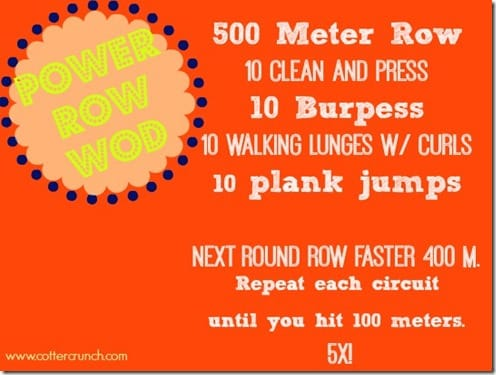 power row wod