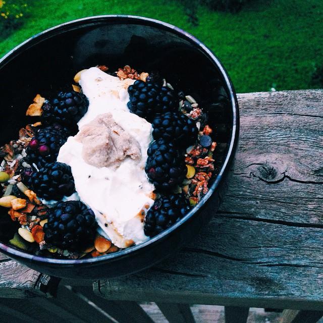 rice and kefir bowl