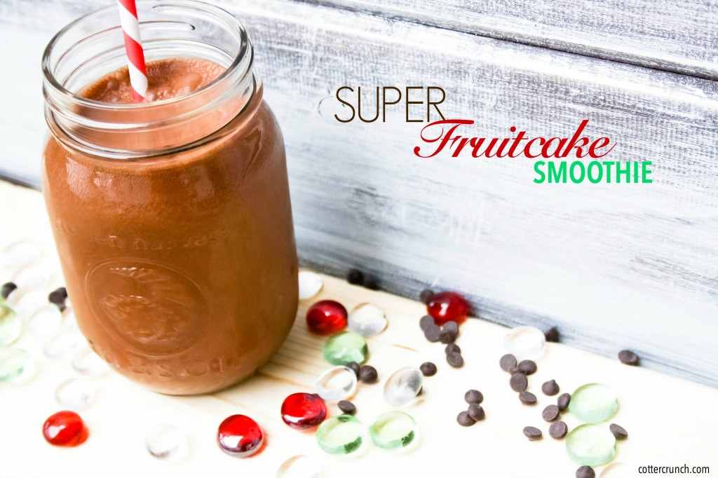 super fruitcake smoothie (paleo)
