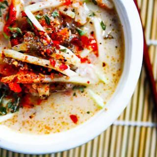 Coconut Cabbage Paleo Thai Soup