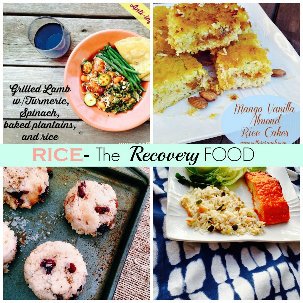 white rice dishes for recovery