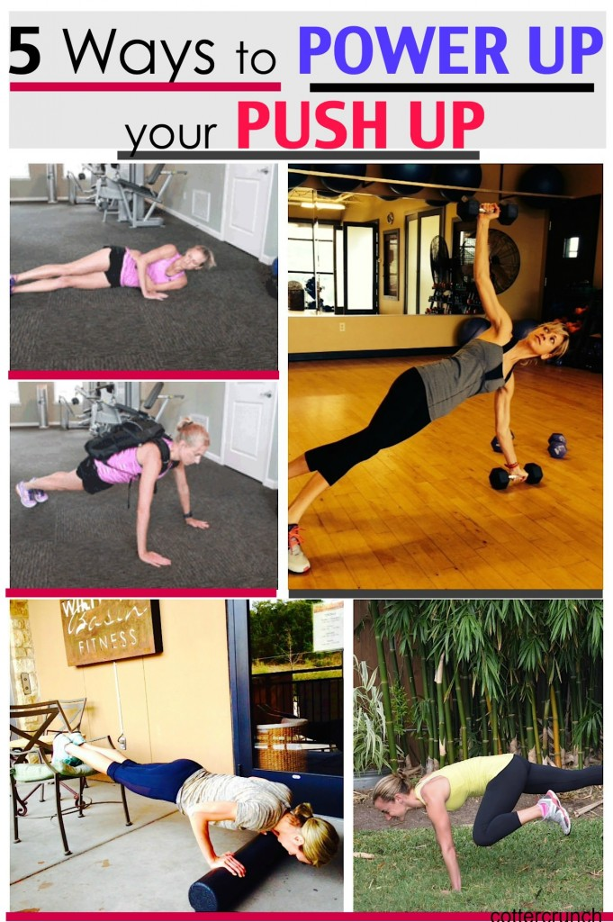 5 ways to progress a push up- @cottercrunch #strength #fitness