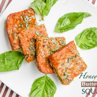 Gluten Free Honey Basil Buttermilk Squares from @cottercrunch - Great for snacks, with soup, or breakfast!