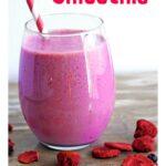 Protein Packed Berry Cheesecake Smoothie Recipe {Gluten Free}