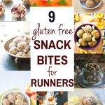 Nine gluten free energy snack bites that are great fuel for runners! Natural energy to fuel you for a run or even sustain you after!  www.cottercrunch.com