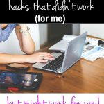 Blog hacks, which ones work for you? Blogging is so strategic these days, that being said, not all blogging hacks are going to work well for everyone. These 3 blog hacks didn't not work for me, but they might for you. Let's talk about the how's and why's of each hack !