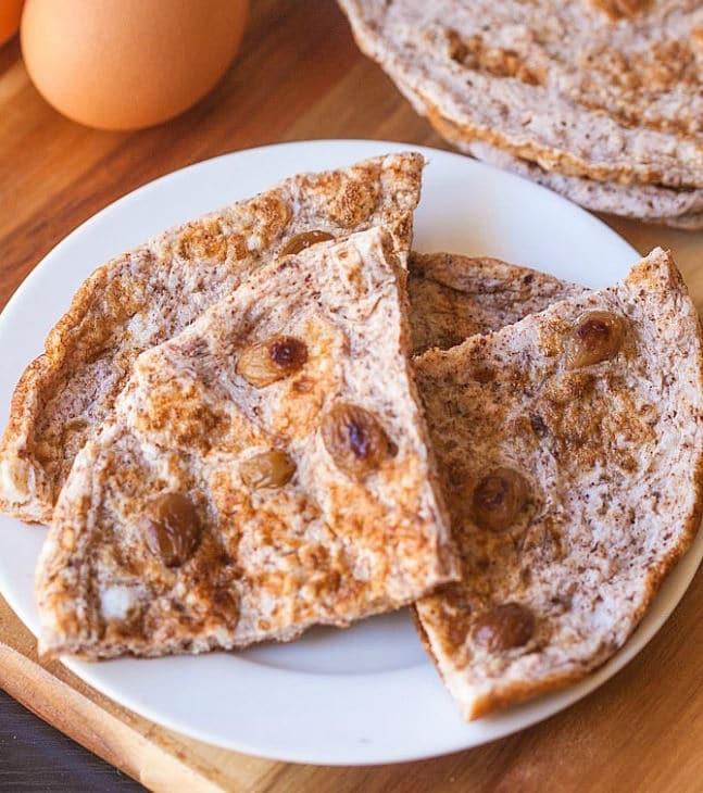 4-ingredient-paleo-cinnamon-raisin-flatbread