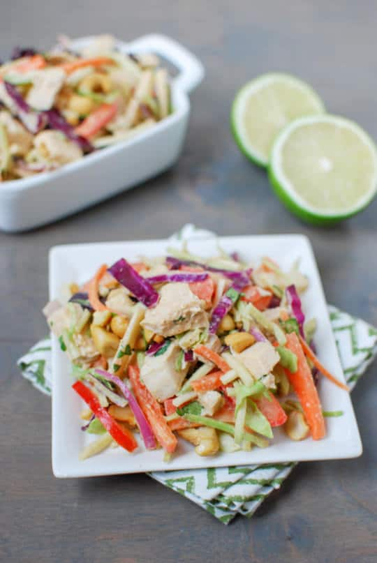 http://www.theleangreenbean.com/thai-chicken-salad/