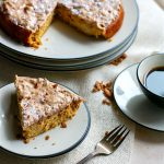 White Chocolate Spiced Almond Cake {Grain Free}