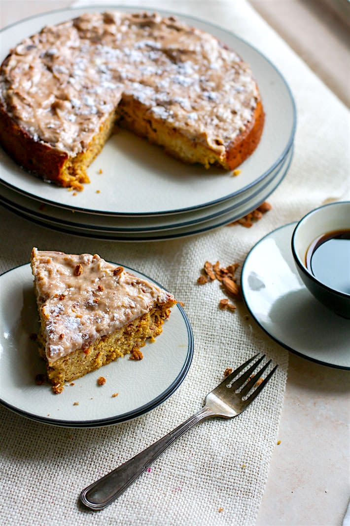 Grain Free White Chocolate Spiced almond cake! Great for Any Holiday or Celebration!