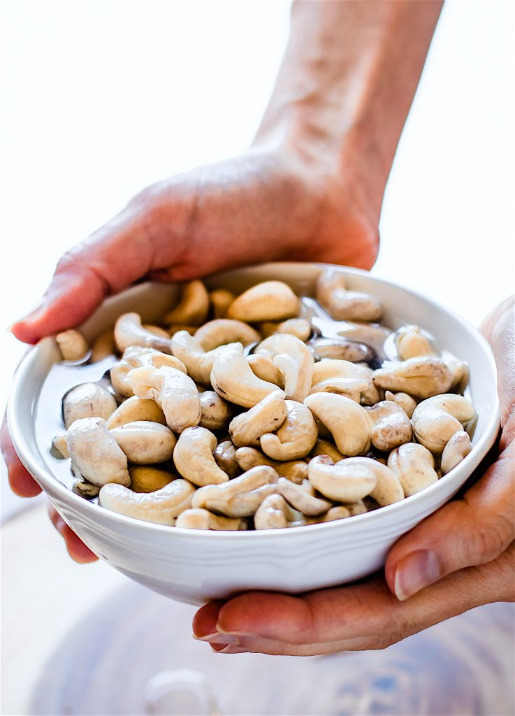 cashews for cashew cream sauce
