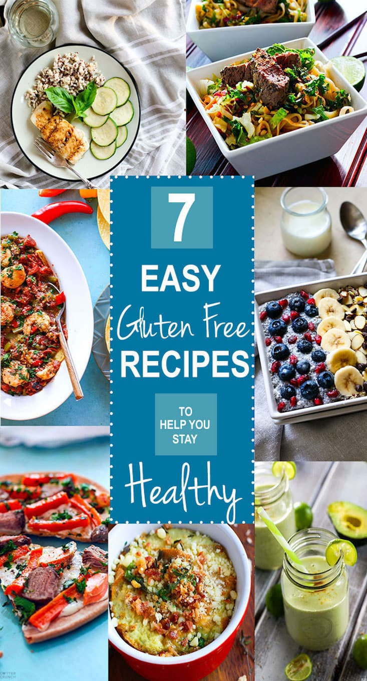 Seven (plus) EASY Gluten Free Recipes we rely on to stay healthy! The new year is here, stay healthy and eat well with these tried and tested easy gluten free recipes. Vegan, paleo, and Vegetarian options. We love them all and use them all for overall health and wellness. See why on www.cottercrunch.com @cottercrunch