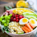 Super Simple Seasonal Paleo Cobb Salad