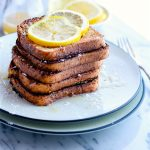 Honey Lemon Vanilla Gluten Free French Toast {Vegan Friendly}
