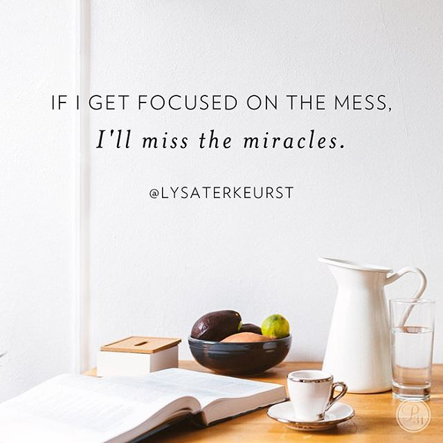 Miracles within the mess