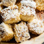 Fluffy Toasted Coconut Homemade marshmallows {NO Corn Syrup, Gluten Free}