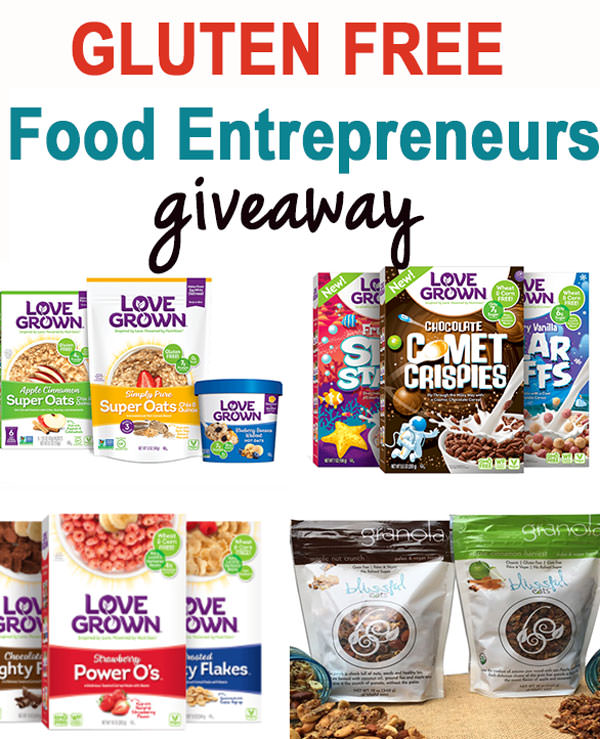 GF Food entrepreneurs and a huge giveaway!