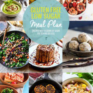 Lower Sugar Gluten Free Meal Plan Recipes