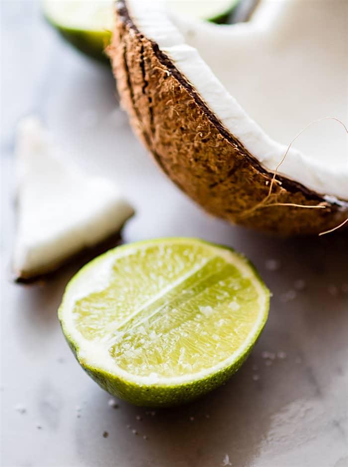 no bake coconut margarita bites (vegan, paleo friendly)