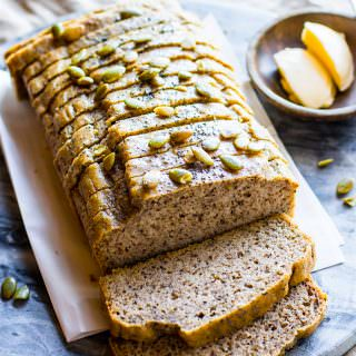 Homemade Nut and Seed Paleo Bread (sandwich style)