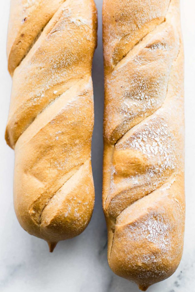 Gluten Free French Bread  loaves