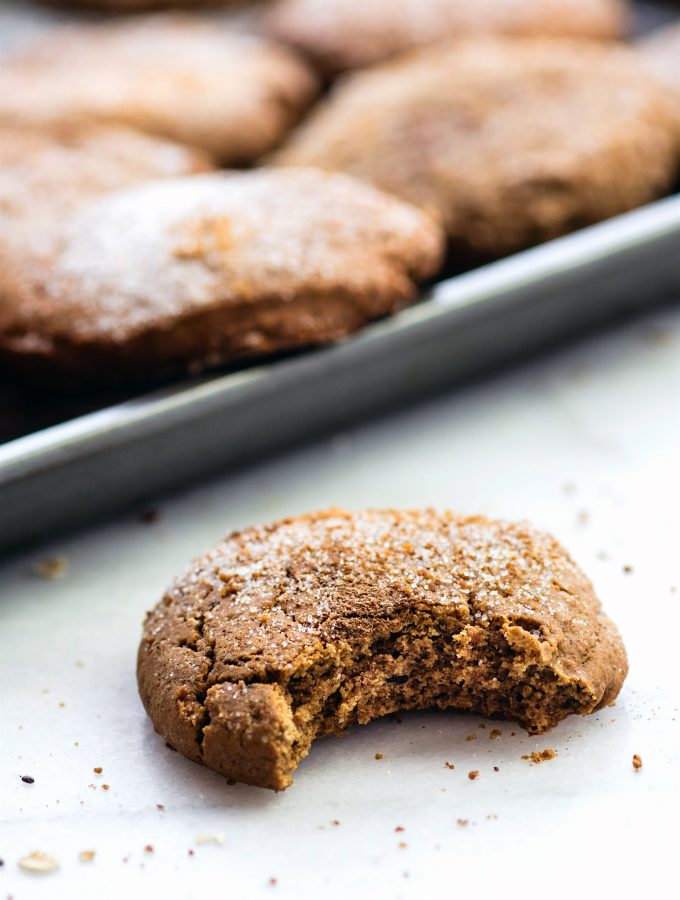 These gluten free Brown Butter Snickerdoodles are a must make Christmas cookie. Simple to make, egg free, and made with real ingredients.