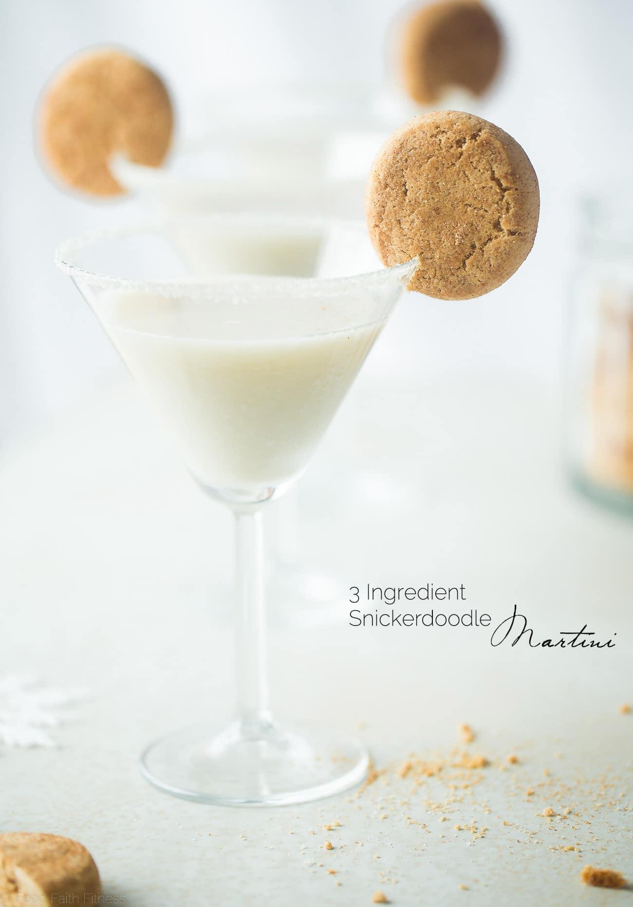 Snickerdoodle Martini (dairy free)