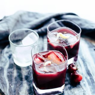 Yuletide Moon Red Holiday Cocktail Recipe
