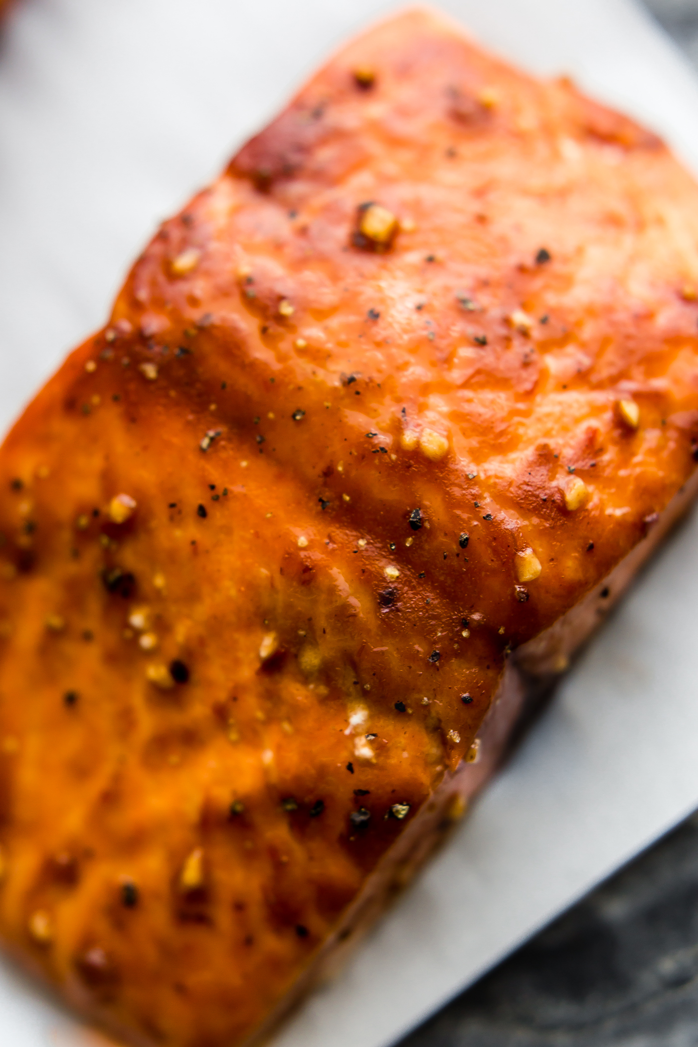 Honey BBQ Baked Salmon (Gluten free)