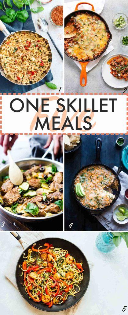 One Skillet Meals