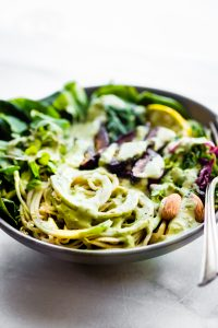 Green Goddess Fig Nourish Bowls {Vegan, Paleo}