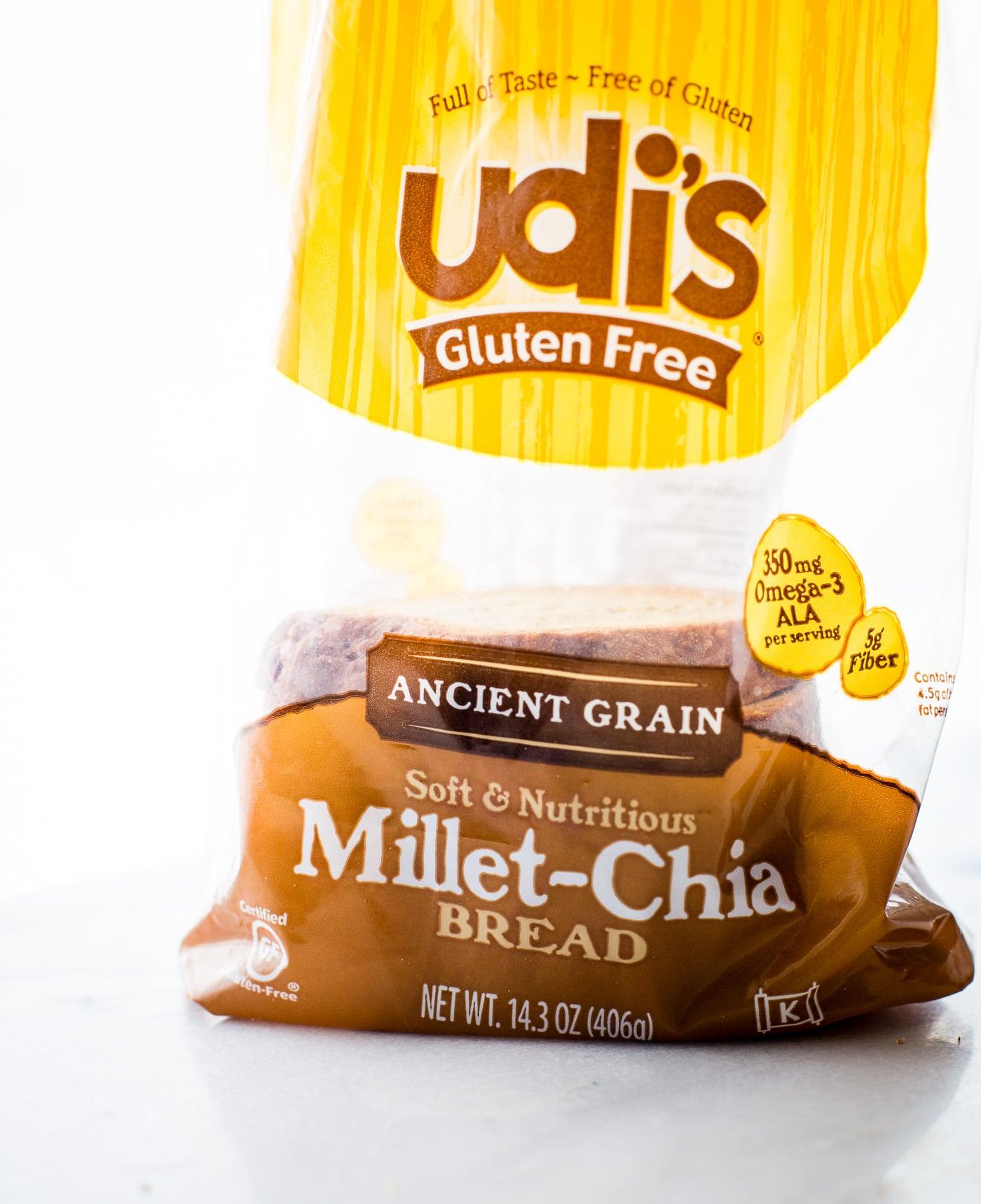 Udis Gluten-Free Millet-Chia Bread