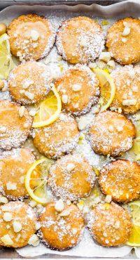 Zesty Lemon Macadamia Nut Cookies {Paleo, Vegan}