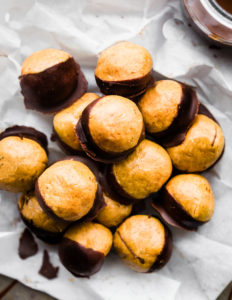 Peanut Butter Protein Buckeyes {Vegan, Gluten Free}