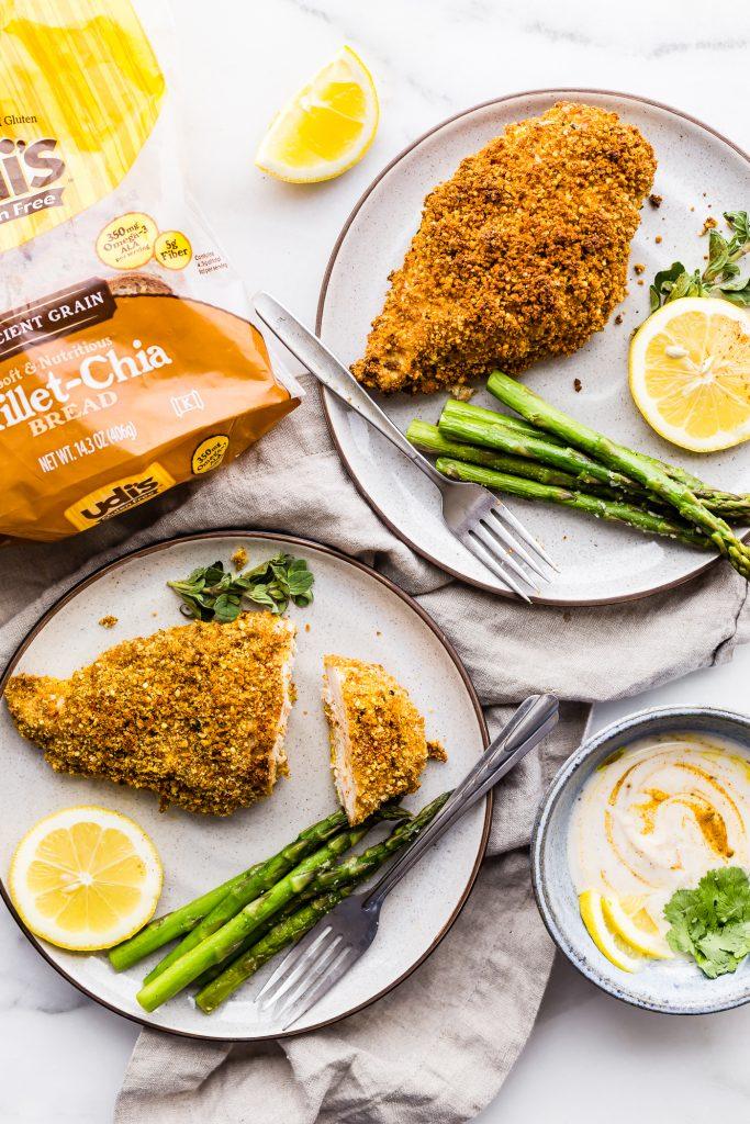 Gluten-Free Panko Crusted Paprika Chicken {Easy}