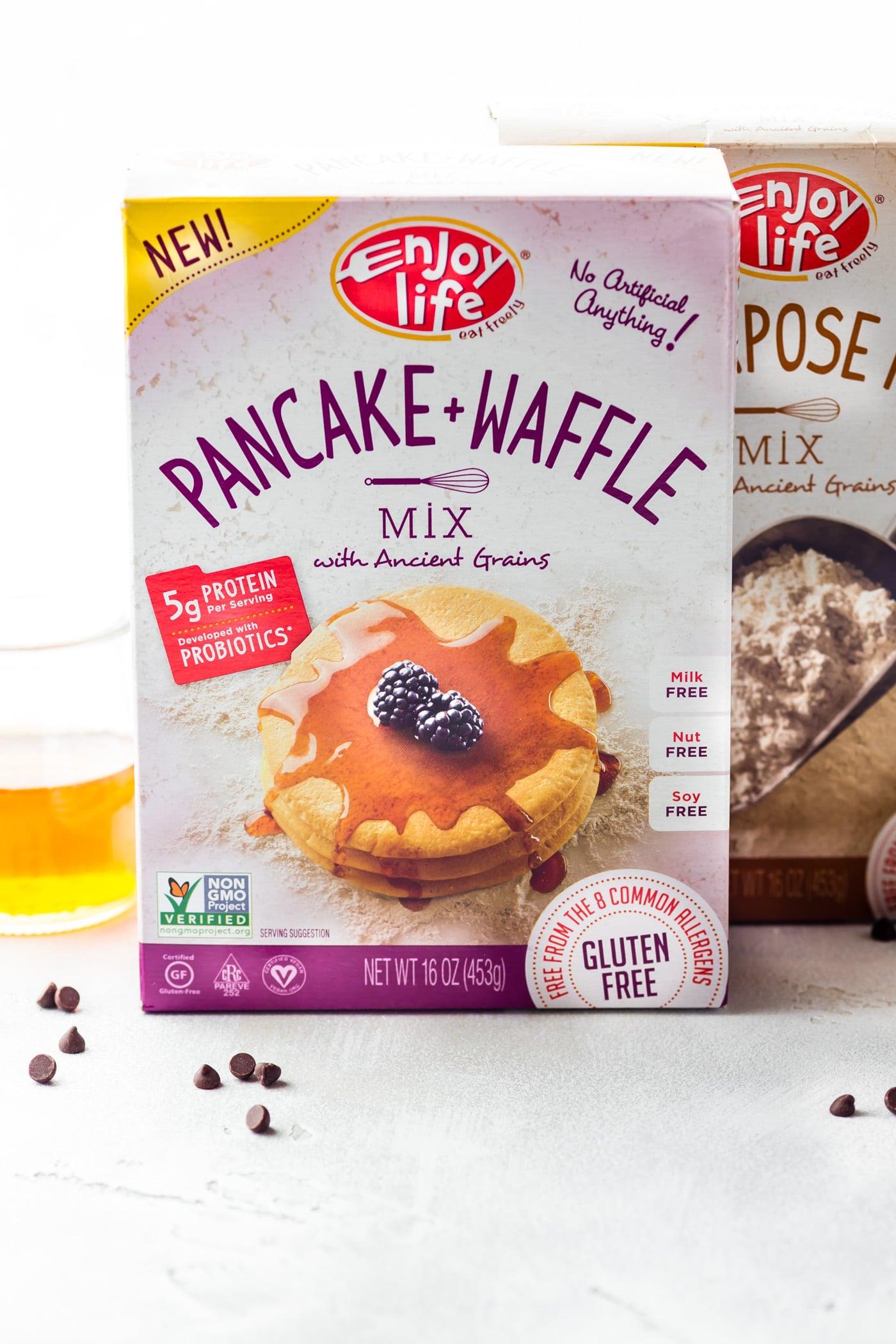 Enjoy Life Foods Pancake/Waffle Mix for pancake bread recipe.