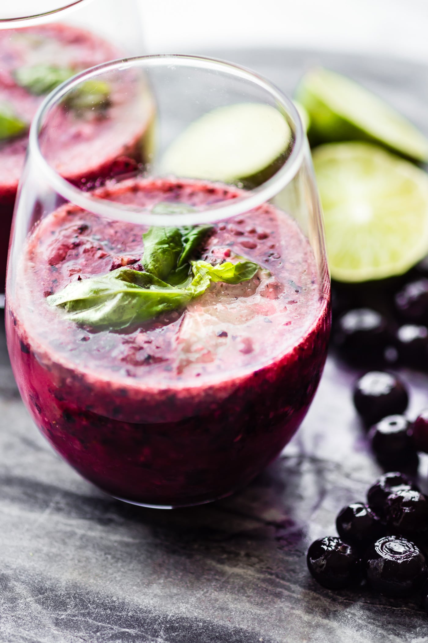 """This Triple Berry Frosé Recipe (aka Frozen Rosé) is a little """"sophisticated"""" twist on wine slushies. A light and blissfully delicious cocktail! Cheers! Now Grab the recipe --> http://www.cottercrunch.com/berry-wine-slushies-frose-reci…/"""