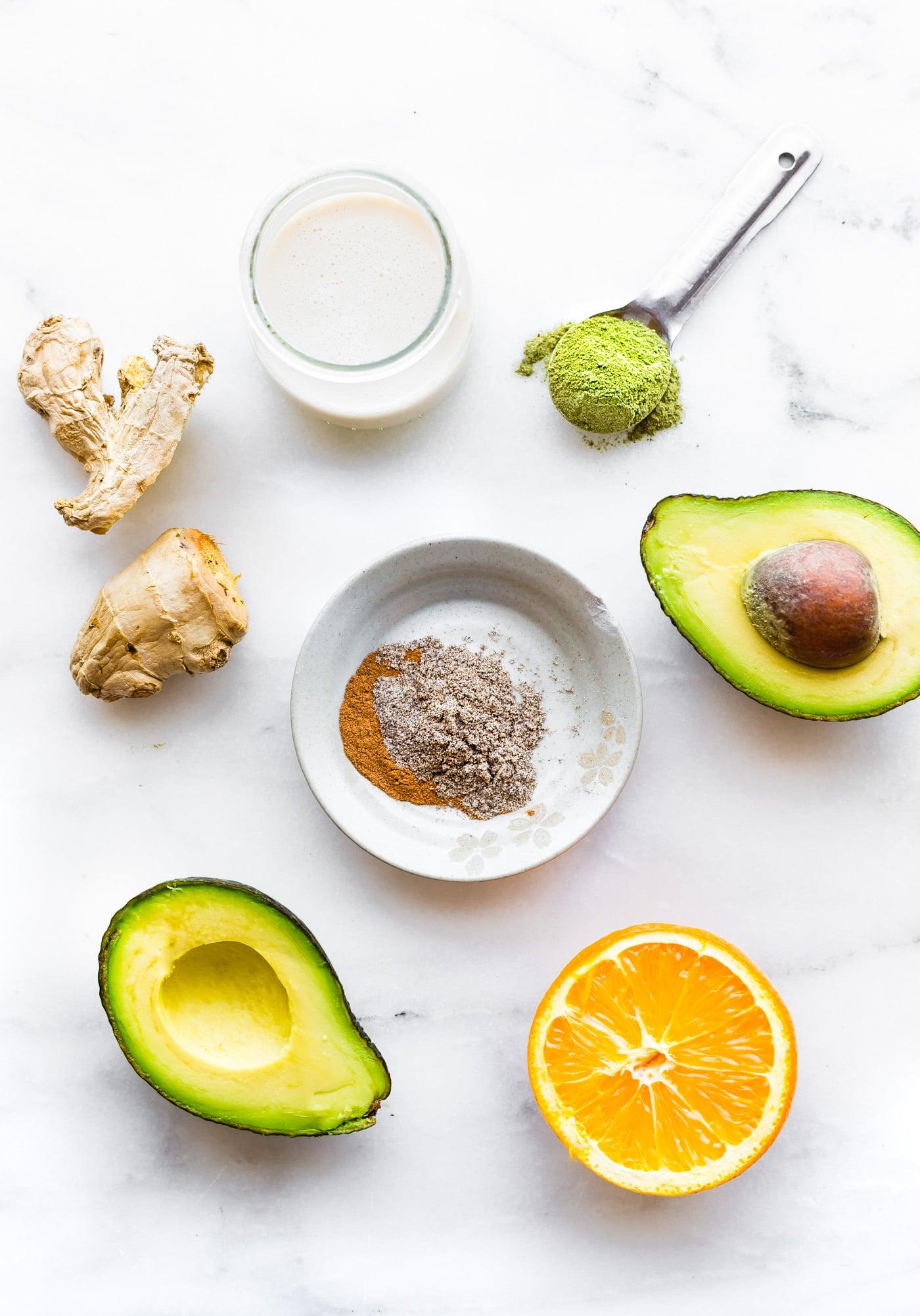 Creamy Coconut Spirulina Superfood Smoothie Recipe