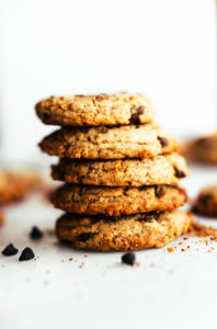 Best Ever Vegan Chocolate Chip Cookies {Paleo}