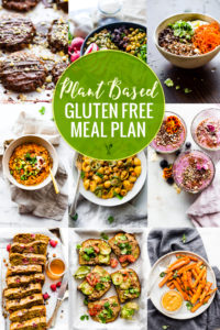 Wholesome Plant Based Gluten-Free Meal Plan