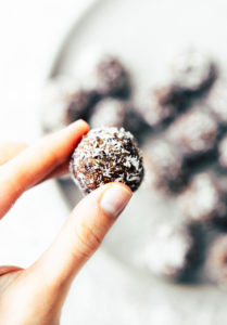 Coconut Apricot Fig Bliss Bites {No Bake}